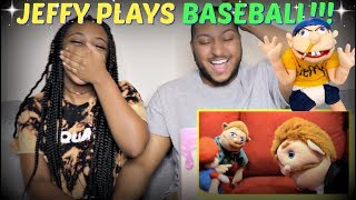 "SML Movie: ""Jeffy Plays Baseball!"" REACTION!!!"