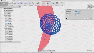 Fusion360 강좌: 목걸이형 펜던트 모델링(3)