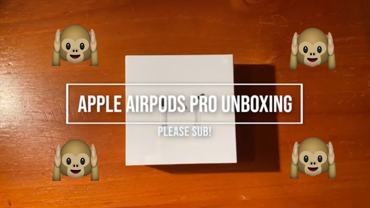 Apple AirPods Pro Unboxing - What is inside the Box?