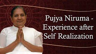 La experiencia de Pujya Niruma