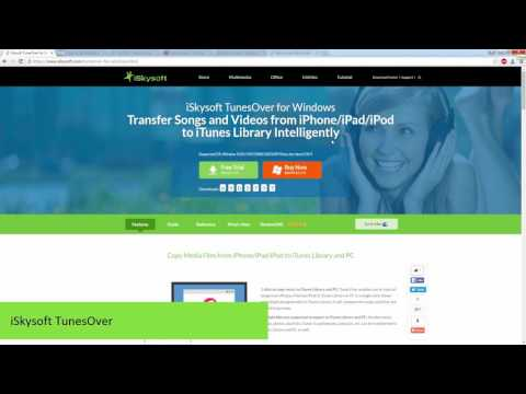 ISkysoft TunesOver- How To Sync IPod To New ITunes Library