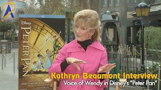 Interview with Kathryn Beaumont, voice of Wendy in Disney