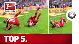 5 Worst Goal Celebrations - Advent Calendar 2015 Number 4