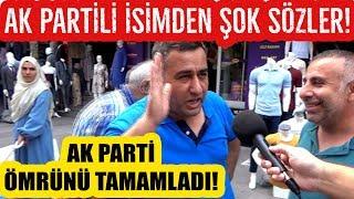 Ak Parti Ömrünü Tamamladı diyen Akp'li Mehmet Metiner'in Sözlerine Vatandaş Ne Dedi!