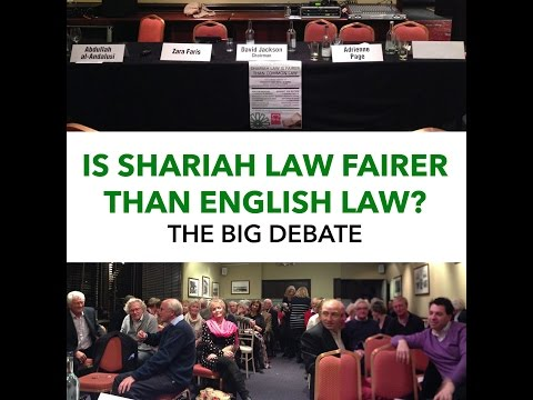 BIG DEBATE: IS SHARIA FAIRER than ENGLISH LAW? Judge & QC debate Muslim Speakers