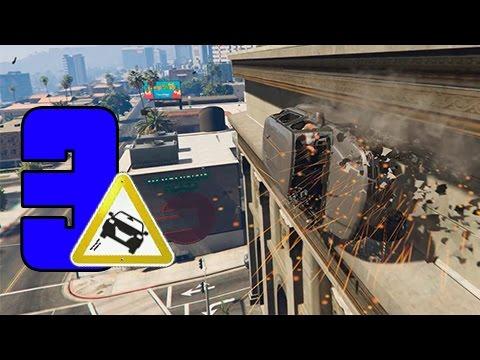 GTA SUPER Epic Fails 3 | COCHES LOCOS | Capitulo 3
