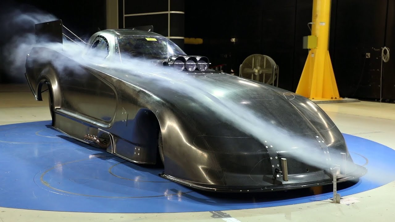 Mopar Dodge Charger Srt Hellcat Nhra Funny Car Wind Tunnel B Roll Youtube Dodge rolls 11000 hp charger srt