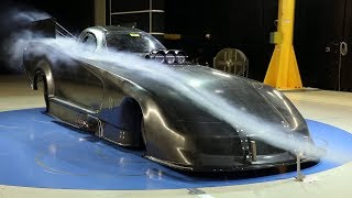 Mopar Dodge Charger SRT Hellcat NHRA Funny Car | Wind Tunnel B-Roll