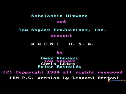 Agent USA gameplay (PC Game, 1984) thumbnail