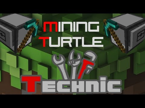 How to Make & Use a Mining Turtle in Technic/Tekkit Lite!
