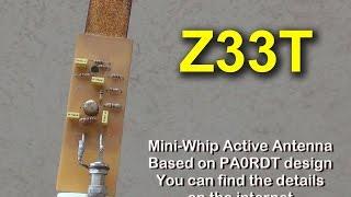 Mini Whip Active Antenna
