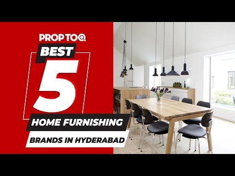 Best 5 Home Furnishing Brands in Hyderabad