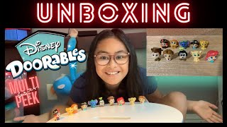 Unboxing Disney Doorables | Multi Peek - Series 4 | According 2 Khloe