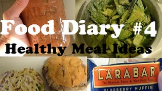 Food Diary #4 - Healthy, Gluten-Free Meals for Weight Loss! Thumbnail