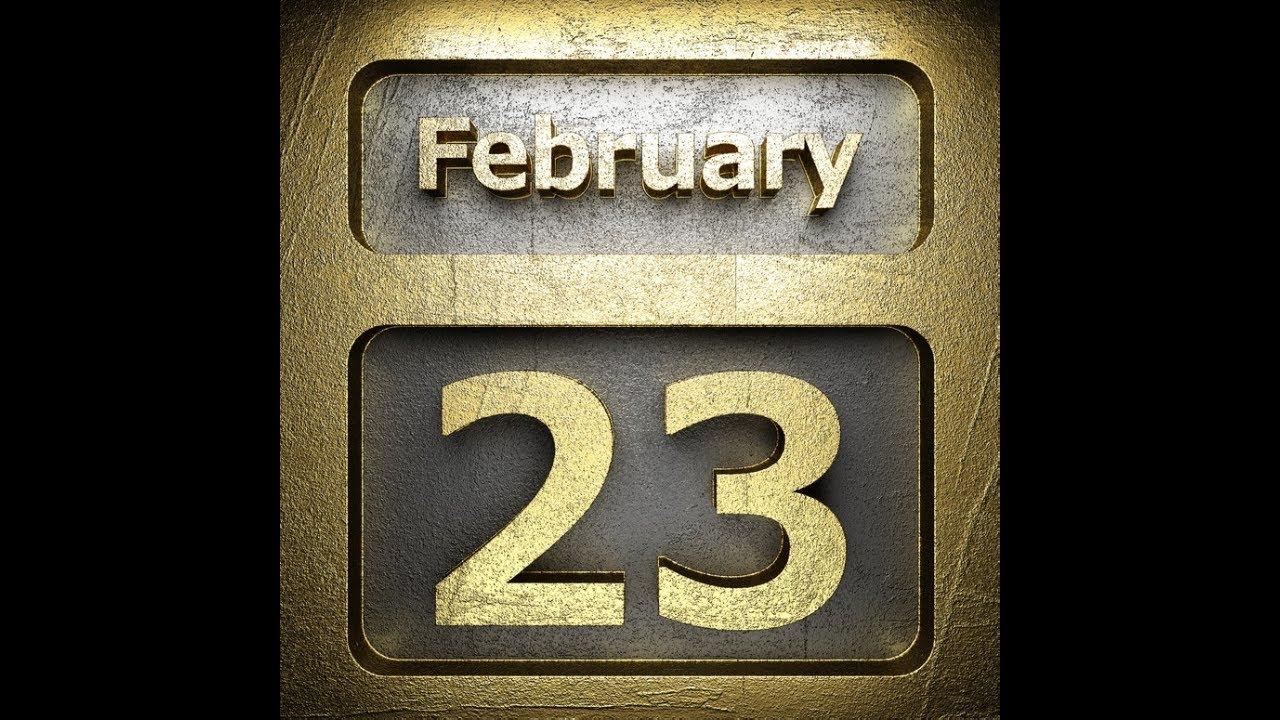 Ю туб необычные поздравления с 23 февраля