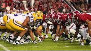 LSU vs Alabama 2015 Pump Up HD || Centurys