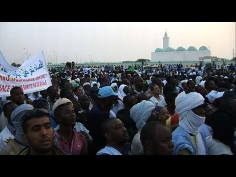 Descendants of slaves protest in Mauritania