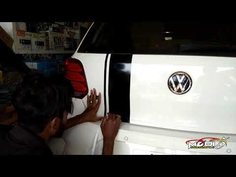 Polo GT Modifying 2019 | Volkswagen Polo GT Matt Black Graphics | Modify Stickers
