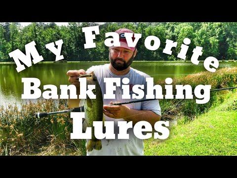 Favorite Bank Fishing Lures - Bass Fishing