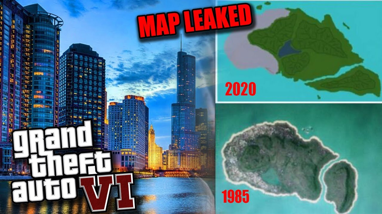 GTA 6 MAP LEAKED | Latest GTA 6 News and Leaks