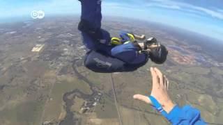 Un accidente paracaidista se convierte en lo más visto en la red