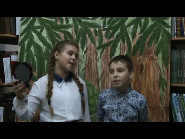 Изображение предпросмотра прочтения – «Мария Дорук и Дмитрий Колосов» читают произведение «Зеркало и обезьяна» И.А.Крылова