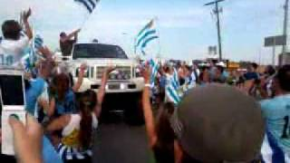 Uruguayan Celebration After Winning The Copa America 2011(Jane And Wilson) Part 2