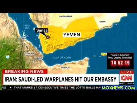 BREAKING! Iran Say Saudi Warplanes Attacked Iranian Embassy In Yemen!