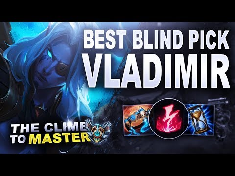 VLADIMIR, THE BEST BLIND PICK - Climb to Master S8   League of Legends