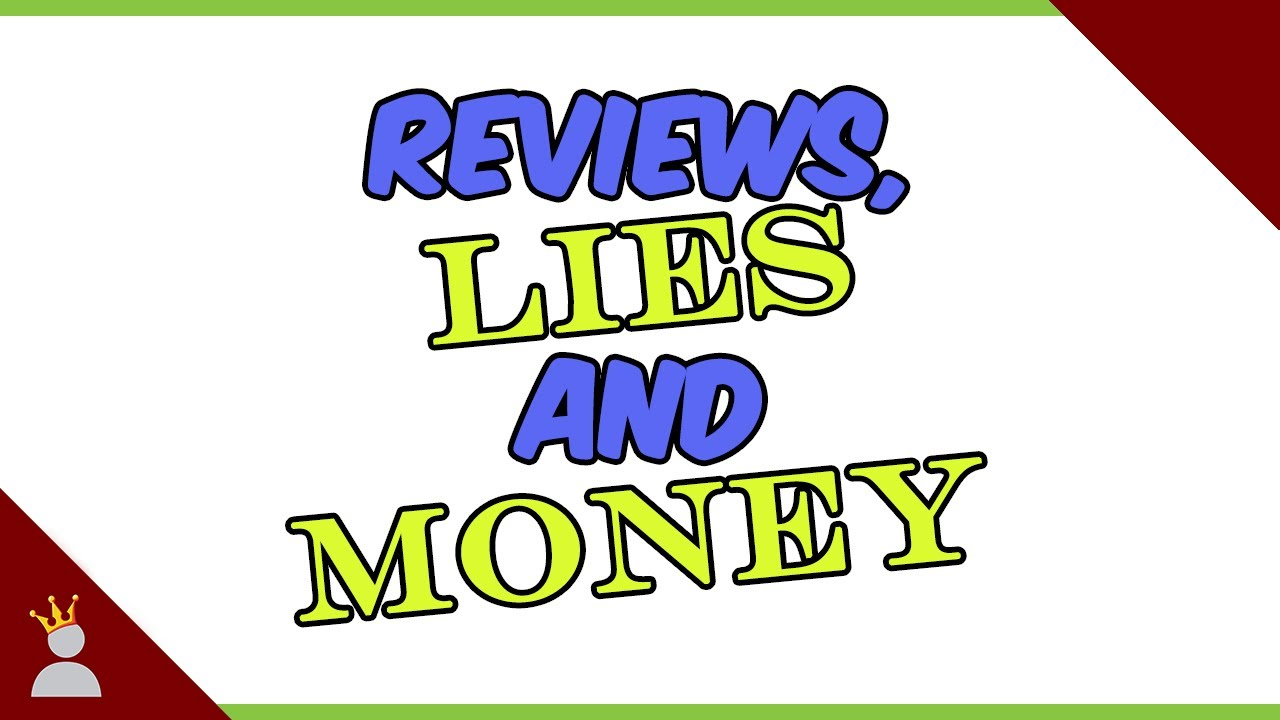 Reviews, Lies and Money: A frank discussion about paid content.