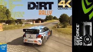 Dirt Rally Ultra Settings | GTX 1080 | i7 5960X 4.4GHz [4K]