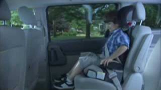 High-back Booster Seat Installation | LATCH System Education | Ad Council