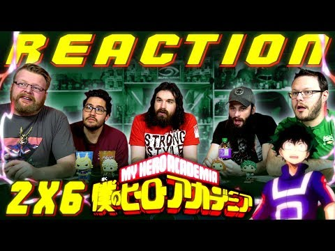 My Hero Academia [English Dub] 2x6 REACTION!!