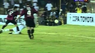 Santos 0x2 Atlético-PR Libertadores 2005 Quartas