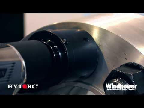HYTORC's new Lithium Torque Gun capable of 100 bolts a full torque on one charge