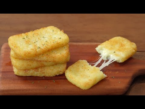 [SUB]How to make a crispy McDonald's Hash Brown :: Cheese Hash Brown :: Breakfast - 매일맛나 delicious day