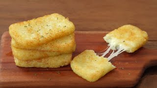 [SUB]How to make a crispy McDonald's Hash Brown :: Cheese Hash Brown :: Breakfast