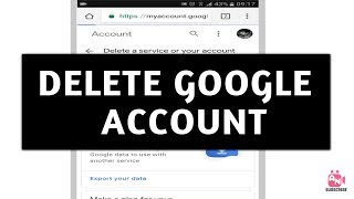 How to Delete Google Account Permanently (2019)