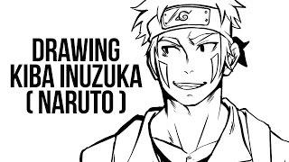 Drawing Kiba Inuzuka (Naruto)