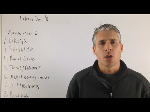 8 Tips For Staying Healthy and Fit For Men Over 40