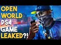 PS4 Open World Game LEAKED?! BIG PSN Store SALE!