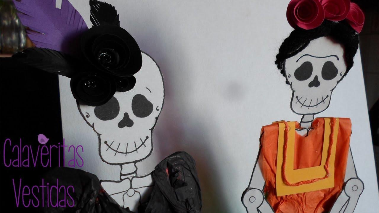 Calaveritas Vestidas [Frida Kahlo]