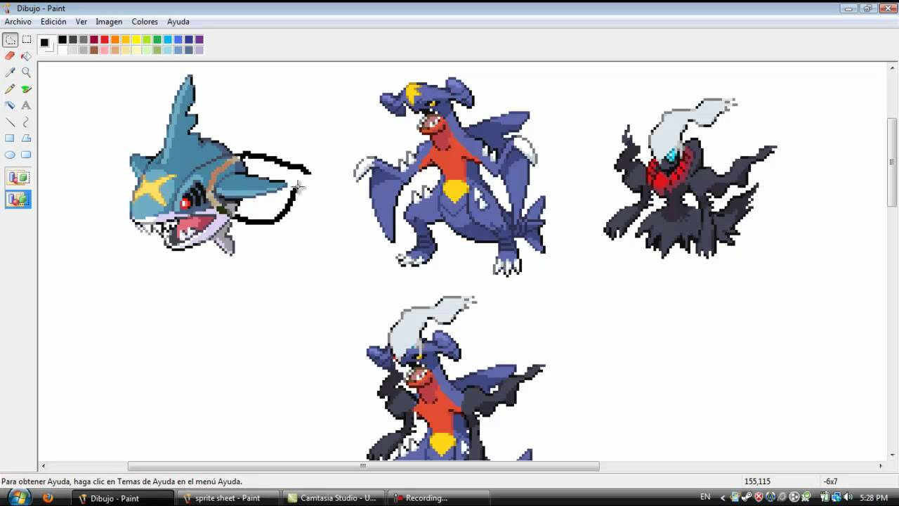 my second pokemon fusion and animation part 1 youtube