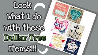 Look what I do with these DOLLAR TREE items | Collaborating with RyMingTahn & Keshia