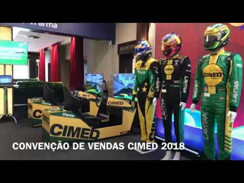 Simuladores Stock-Car CIMED @ Convenção de Vendas 2018