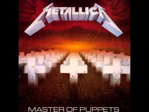 Metallica Master Of Puppets Full Album 1986