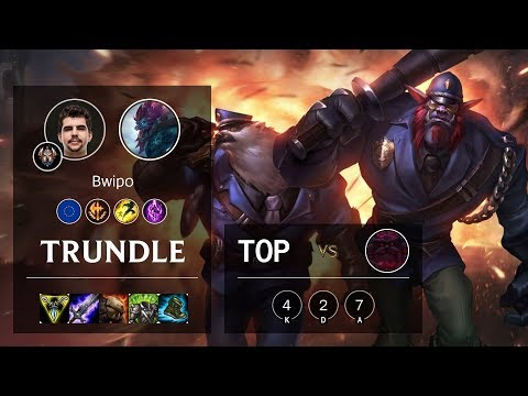 Trundle Top vs Ornn - EUW Challenger Patch 10.6