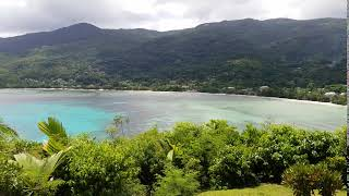 SEYCHELLES: Stunning view near MAIA Luxury Resort and Spa
