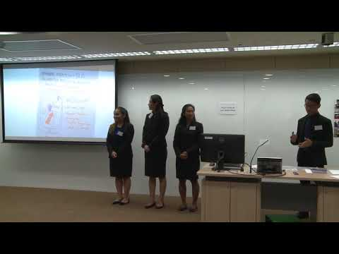2017 Round 2 University of Hawaii - HSBC/HKU Asia Pacific Business Case Competition