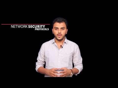 CA IPCC ITSM: Lecture 8: Understanding Network Security Protocols with a real-world scenario